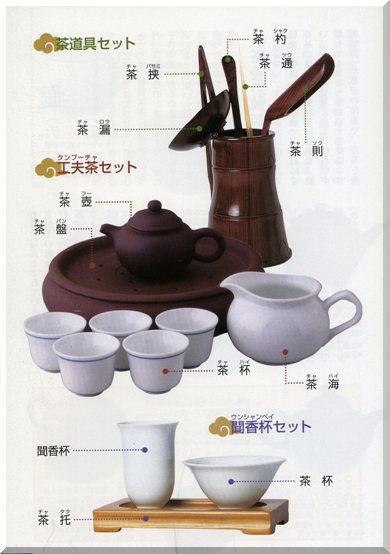 中国茶具の名称