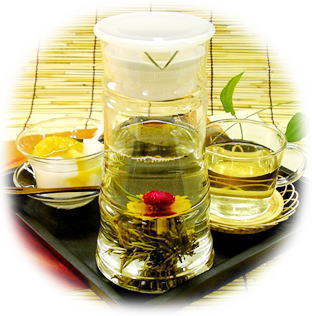 中国冷茶で癒し効果満点