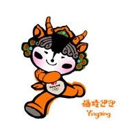 北京オリンピックマスコットキャラクター 迎迎
